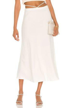 Musier Paris Shirley Skirt in Ivory.