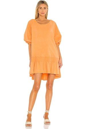 Free People Jenny Mini Dress in Tangerine.
