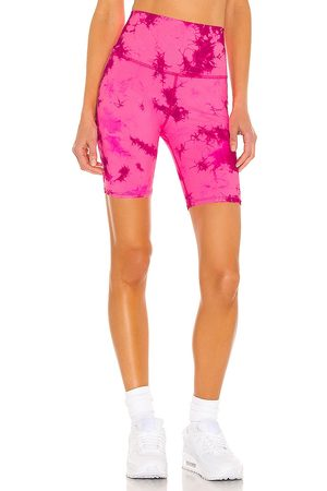 Electric & Rose Cali Biker Short in Pink.
