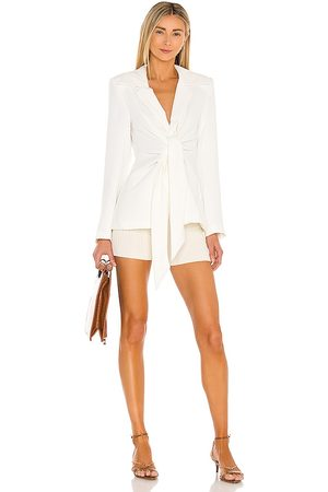 L'Academie The Tilly Blazer in Ivory.