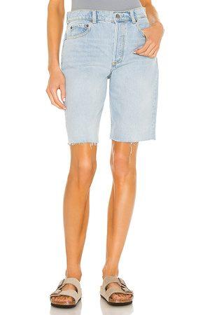 Boyish Women Shorts - The Bradley Short in Blue.