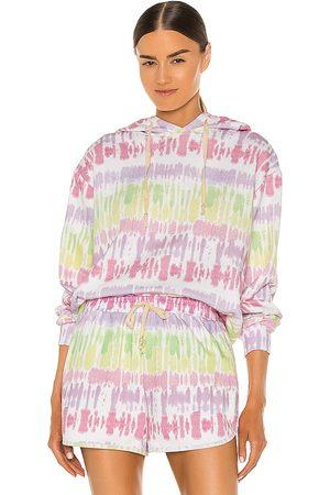 OLIVIA RUBIN Women Hoodies - Laurel Sweatshirt in Yellow,Pink.
