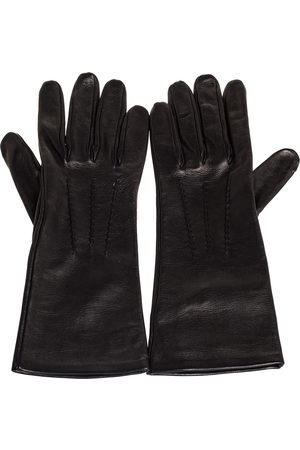 Burberry Leather Short Gloves
