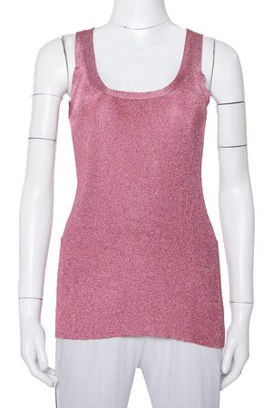 Gucci Lurex Knit Tank Top XXS