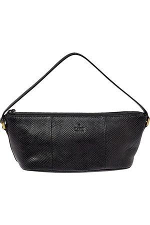 Gucci Women Shoulder Bags - Lizard Baguette Bag