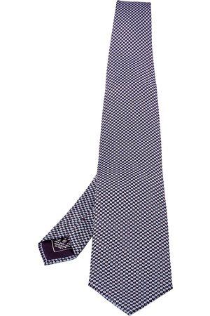BRIONI Men Neckties - Printed Silk Traditional Tie
