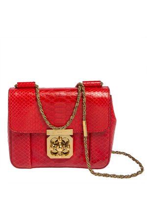 Chloé Python Small Elsie Shoulder Bag