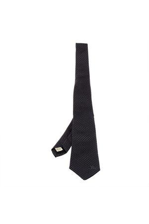 Burberry Jacquard Pattern Rohan Silk Tie