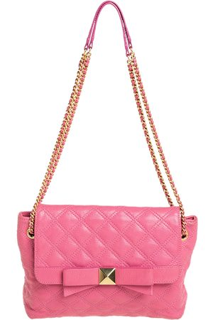 Marc Jacobs Quilted Leather Bow Shoulder Bag
