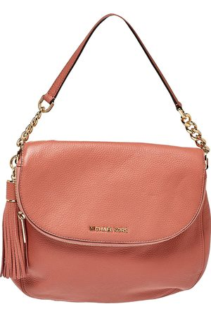 Michael Kors Women Shoulder Bags - Peach Leather Bedford Shoulder Bag