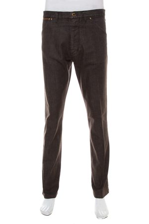 LOUIS VUITTON Men Tapered - Denim Tapered Leg Jeans XL