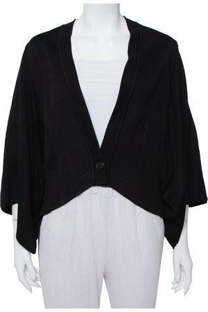 Givenchy Knit Cape Sleeve Detail Kimono Jacket M