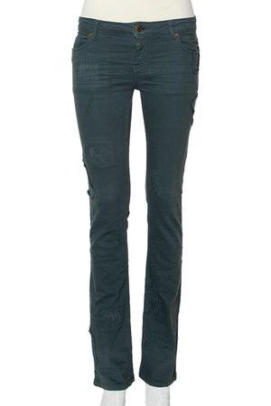 Zadig & Voltaire Zadig & Voltaire Denim Distressed patch Detail Jeans S