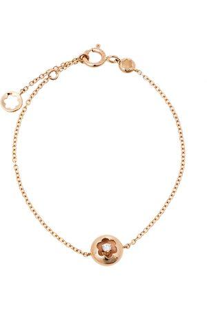 Mont Blanc Signet Diamond 18K Rose Bracelet