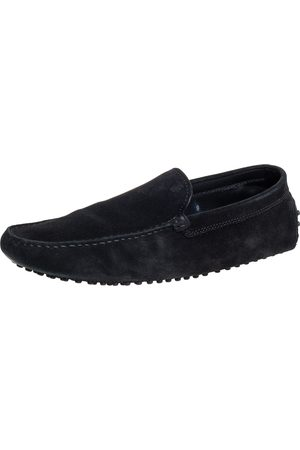 Tod's Suede Slip On Loafers Size 43