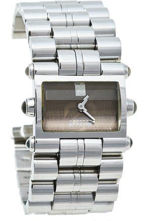 Gianfranco Ferré Women Watches - GF Ferre Stainless Steel GF.9004L Quartz Women's Wristwatch 28 mm