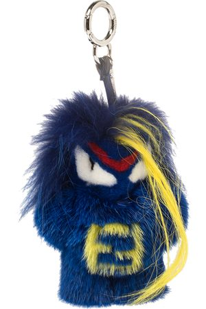 Fendi Fur rumi Bug-Kun Bag Charm