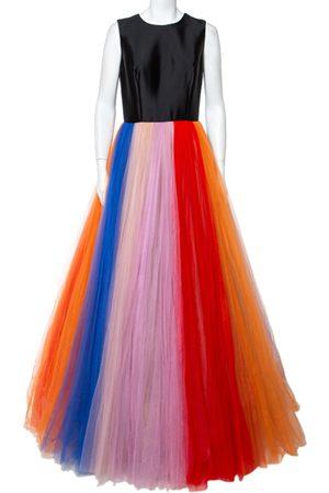 Carolina Herrera Tulle Sleeveless Gown M