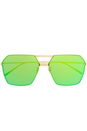 Bottega Veneta Sunglasses - Oversized geometric sunglasses