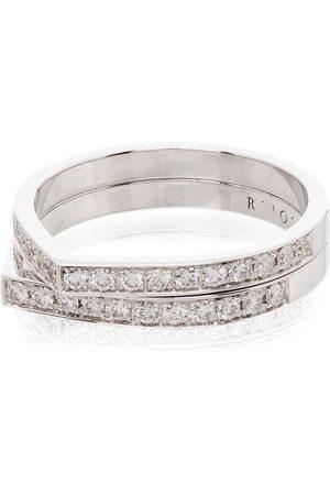 Repossi Antifer 18kt gold diamond ring