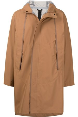 3.1 Phillip Lim Men Parkas - Essential hooded parka coat - Neutrals