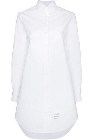 Thom Browne RWB-stripe mini shirtdress