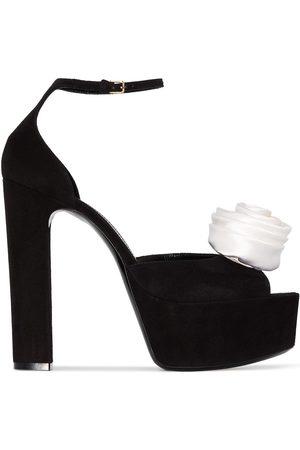 Saint Laurent Jodie 95mm platform sandals