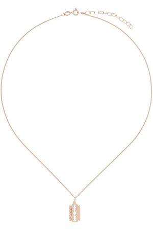 TRUE ROCKS Men Necklaces - Mini razor pendant necklace