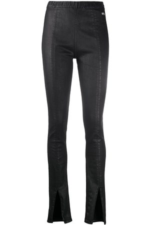 Rick Owens Women Skinny Pants - Skinny trousers with slit-flares