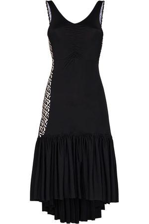 Marine Serre Women Dresses - Futurist Flamenco V-neck dress
