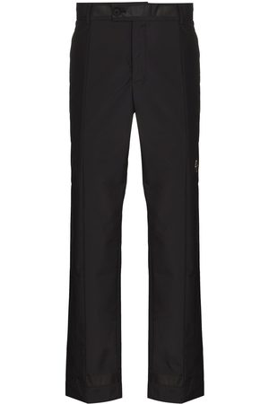 A-cold-wall* Men Straight Leg Pants - Belted straight-leg trousers
