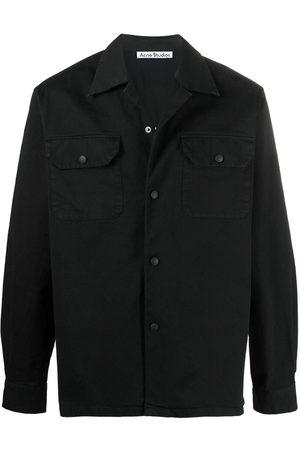 Acne Studios Long-sleeve boxy shirt