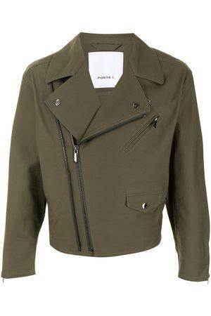 Ports V Wide lapels biker jacket