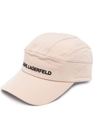 Karl Lagerfeld Karl Essential embroidered logo cap - Neutrals