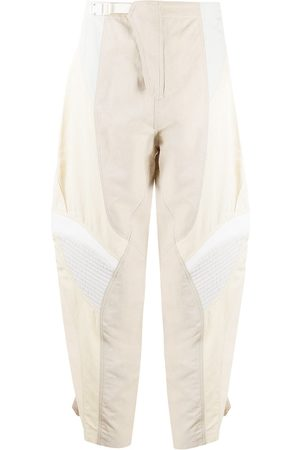 Stella McCartney Panelled tapered trousers - Neutrals