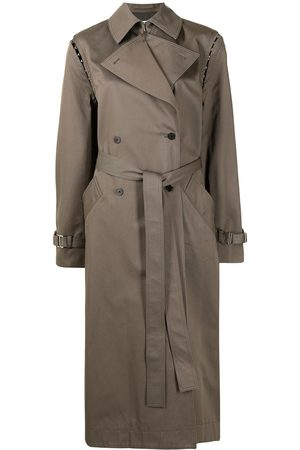 DION LEE Convertible long trench coat