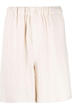 Ami Elasticated waist shorts - Neutrals