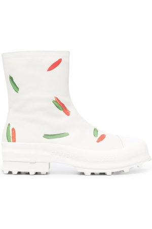 Camper Lab Men Boots - Traktori paint print boots - Neutrals