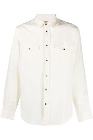 Diesel Chest flap-pocket shirt