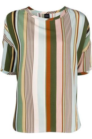Aspesi Stripe-print T-shirt