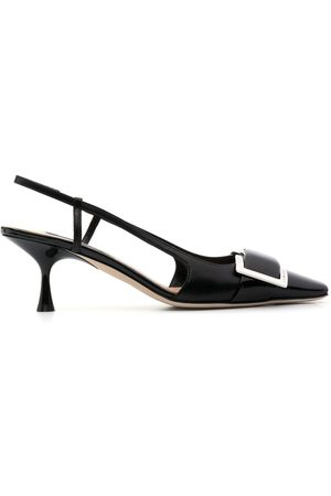 Sergio Rossi SR Twenty leather pumps