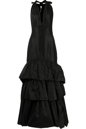 JOHANNA ORTIZ Corazon tiered-ruffle maxi dress