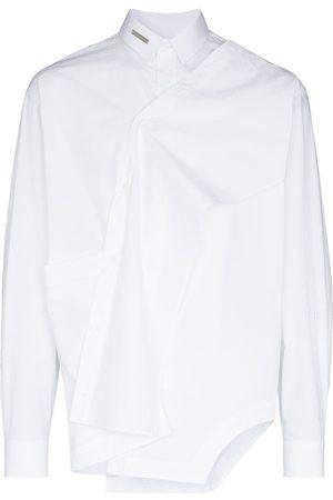 HELIOT EMIL Long-sleeve asymmetric shirt
