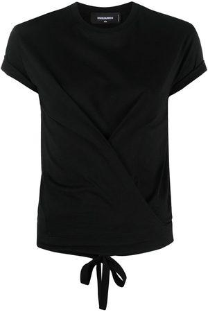 Dsquared2 Slogan-print wrap T-shirt