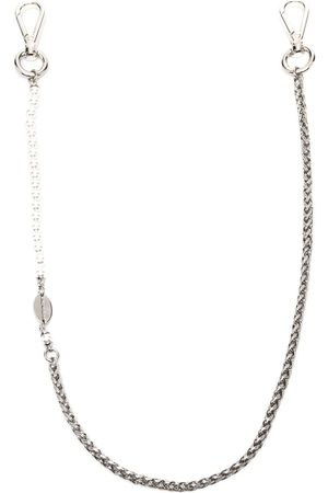 Dsquared2 Faux pearl-embellished chain