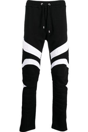 Balmain Two-tone design track pants