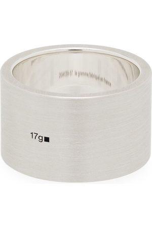 Le Gramme Men Rings - Le 17g brushed ribbon ring
