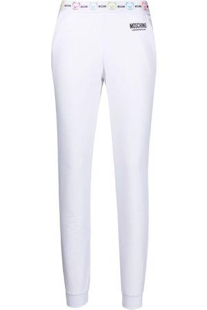 Moschino Logo waistband lounge track pants