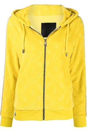 Philipp Plein Women Hoodies - Logo mongram hoodie