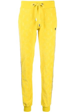 Philipp Plein Women Sweatpants - Monogram logo track trousers